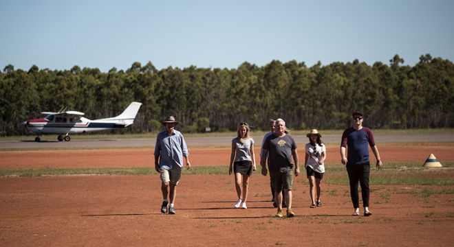 Gove Airport Tarmac, Northern Territory, First Contact - Series Two - Photograph by David Dare Parker